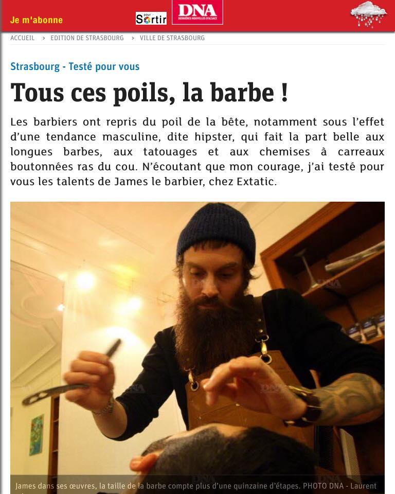 Interview james barbier à Strasbourg (DNA 1/3)